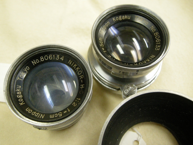 Nikkor 5cm F2 No. 806133 and 4 !!!
