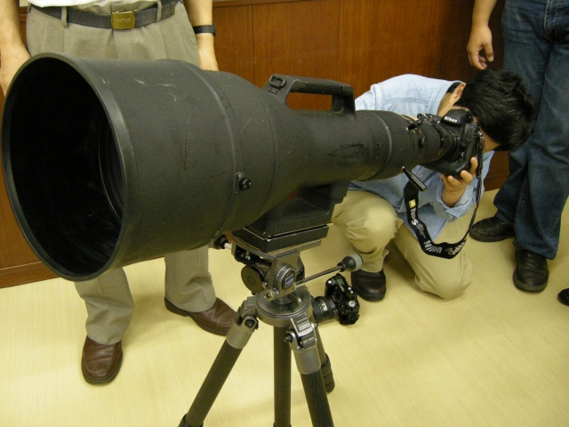 Take the Photos with the Huge Zoom-Nikkor ED 1200-1700mm