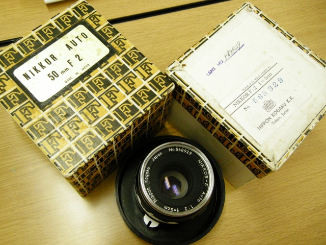 Nikkor 5cm F2 Original Boxed Outfit