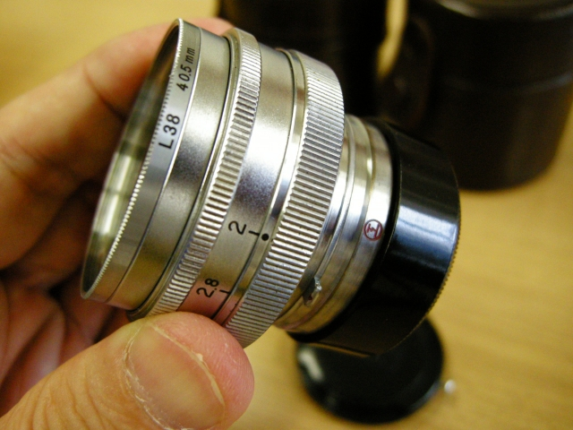 Very Rare Nikkor 5cm F2 Red Maru-Koh Lenses