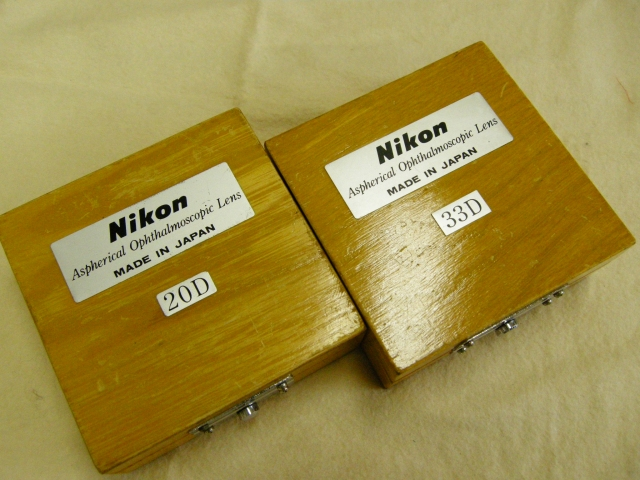 Nikon Aspherical Opthalmoscopic Lens