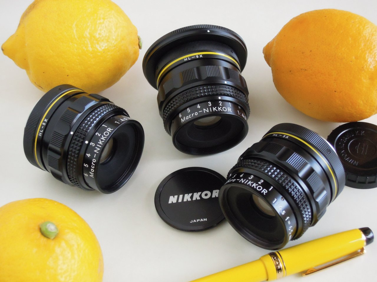 MACRO Nikkor 65mm F4.5 Lemon Yellow